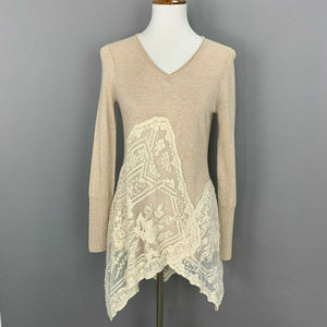 Anthropologie Angle Of The North Alpinium Sweater